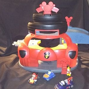 Mickey Mouse Roadster Racer Club Playset